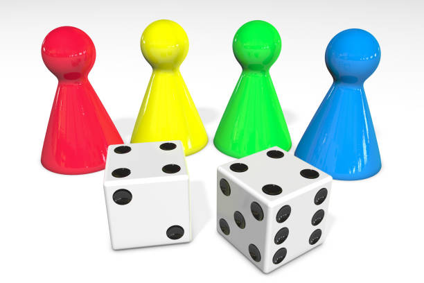 Dice For Role Playing Game Clip Art, Vector Images & Illustrations.
