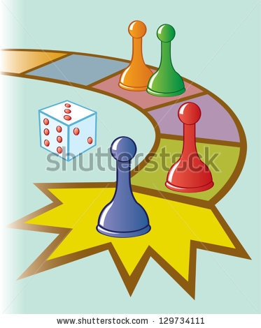 Board Game Pieces Stock Images, Royalty.