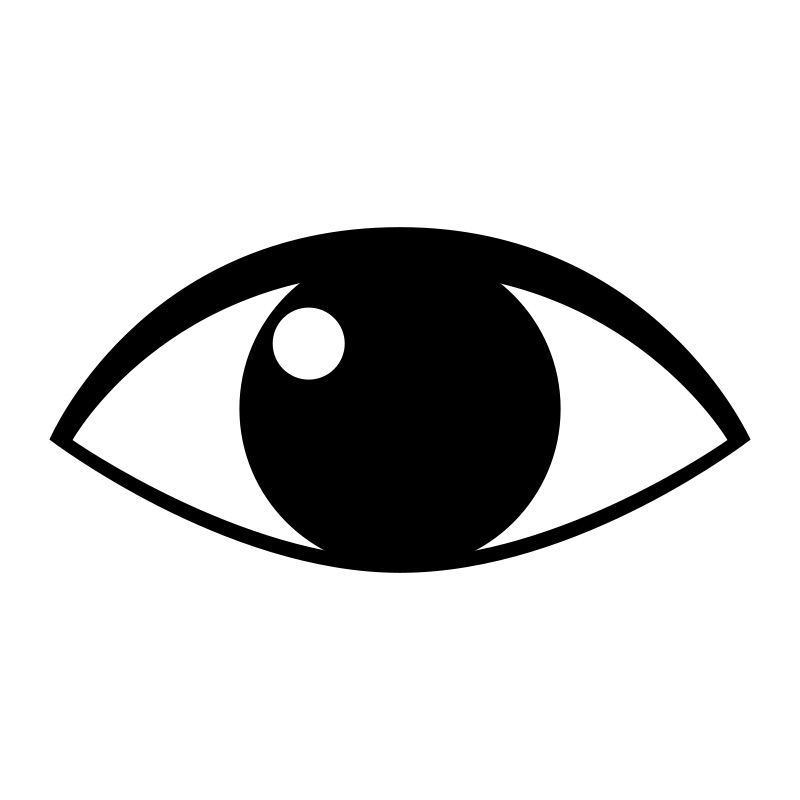 Did You See That Eyes Clipart.