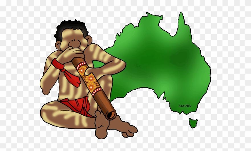 Australia Map With Didgeridoo Clipart (#1308247).