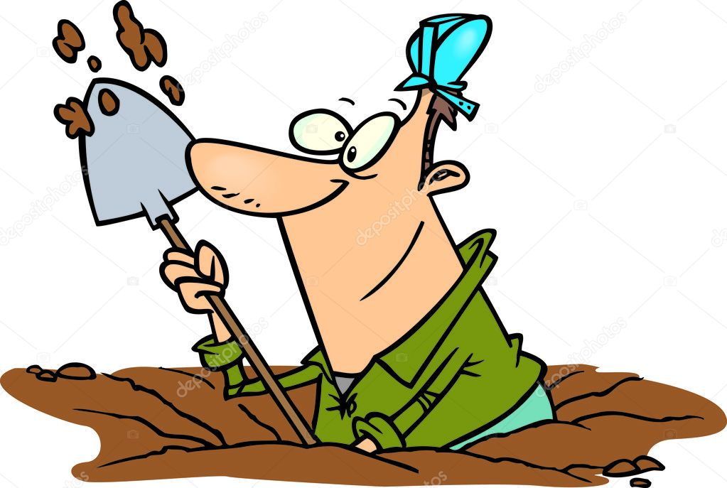 Clipart digging a hole 6 » Clipart Station.