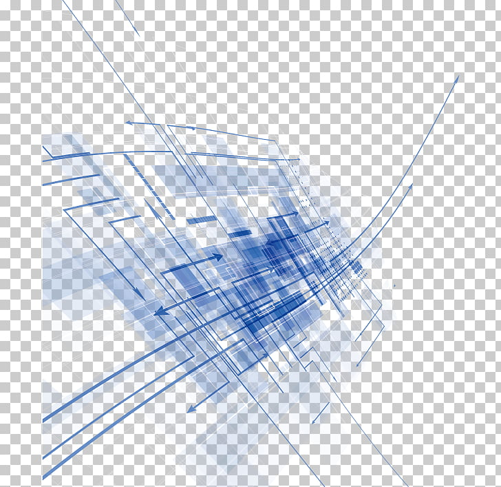 Blue Euclidean , Abstract background material, blue and.