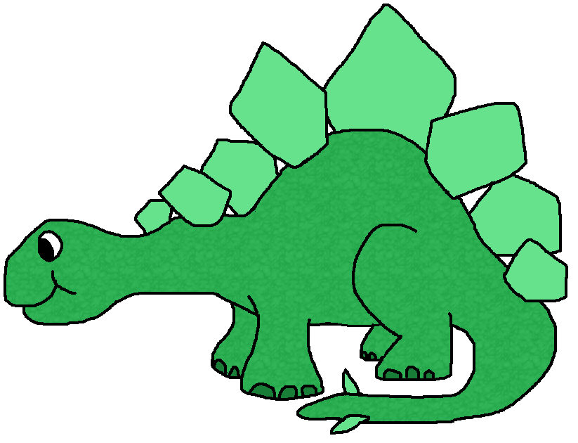 with this clipart: dinosaur.