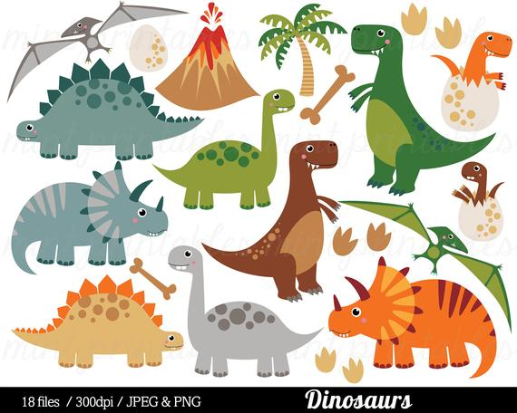 Dinosaur Clipart, Dinosaurs Clip Art, Tyrannosaurus Rex.