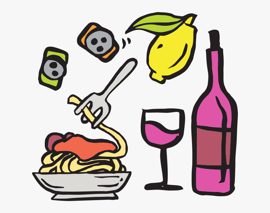 Wine And Dine Clipart Transparent , Free Transparent Clipart.
