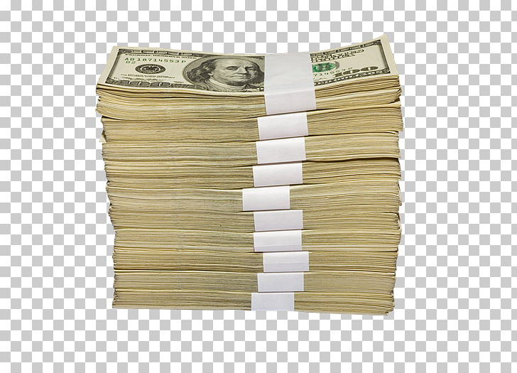 Banknote Money United States Dollar Stack, dinero PNG.