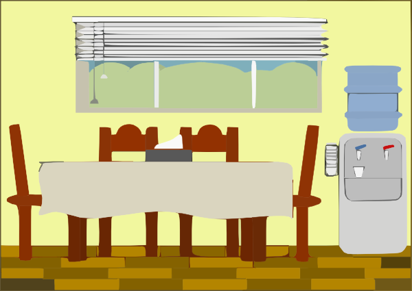 Dining Room Clipart Png.