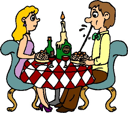 Clipart dining out restaurant.