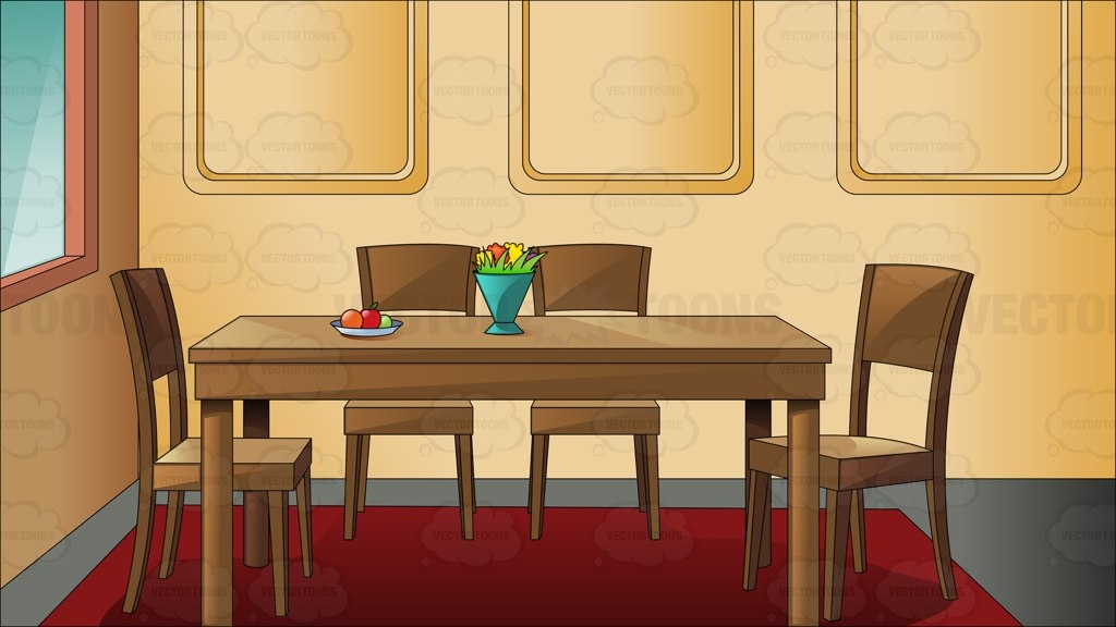 Dining Table Clip Art ~ Clipart dining room table clipground