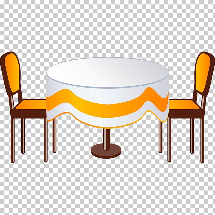 Table Furniture , Creative round dining table PNG clipart.