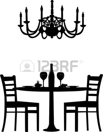2,054 Dinner Chair Stock Vector Illustration And Royalty Free.