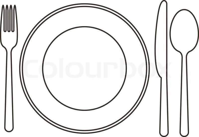 Plate clipart dinner plate, Plate dinner plate Transparent.