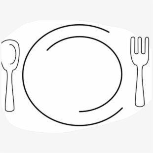 Dinner Plate Clipart Feast.