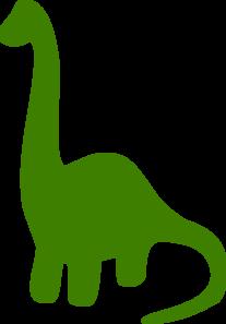 Green Dinosaur Clip Art at Clker.com.