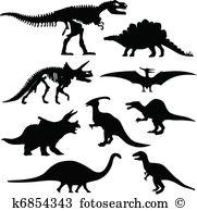 Dinosaur bones Clipart Illustrations. 449 dinosaur bones clip art.