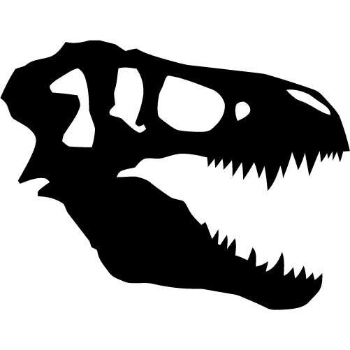 Free Dinosaur Bones Clipart Image.
