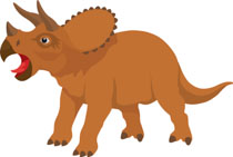Free Dinosaurs Clipart.