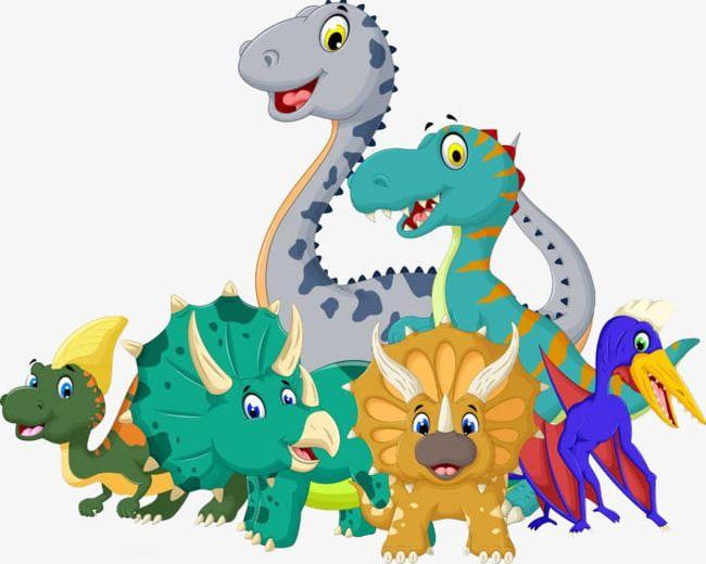 Cartoon Dinosaurs PNG, Clipart, Animal, Cartoon, Cartoon Clipart.