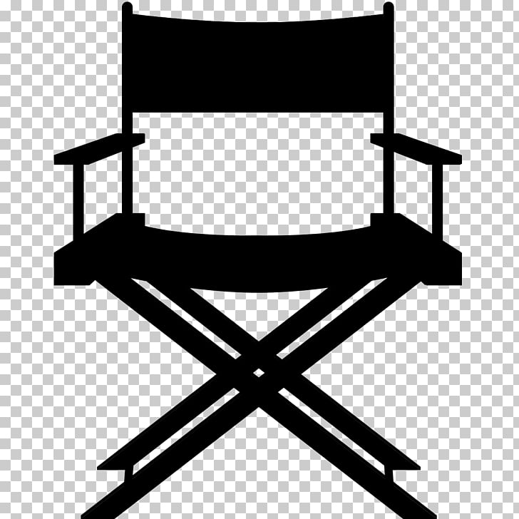 Table Director\'s chair Stool Leather, Movie Theatre PNG.