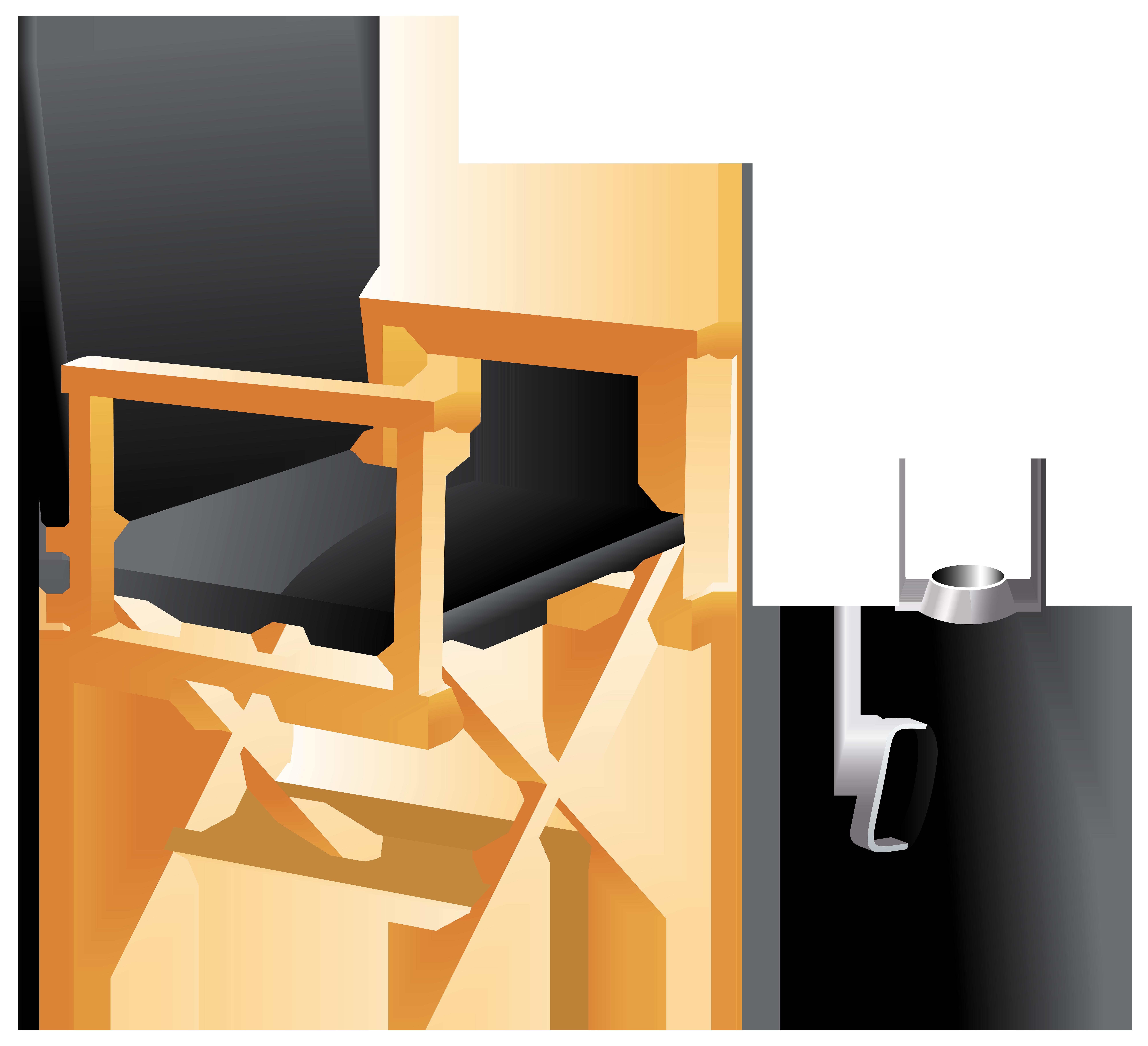 Directors Chair and Megaphone PNG Clip Art.