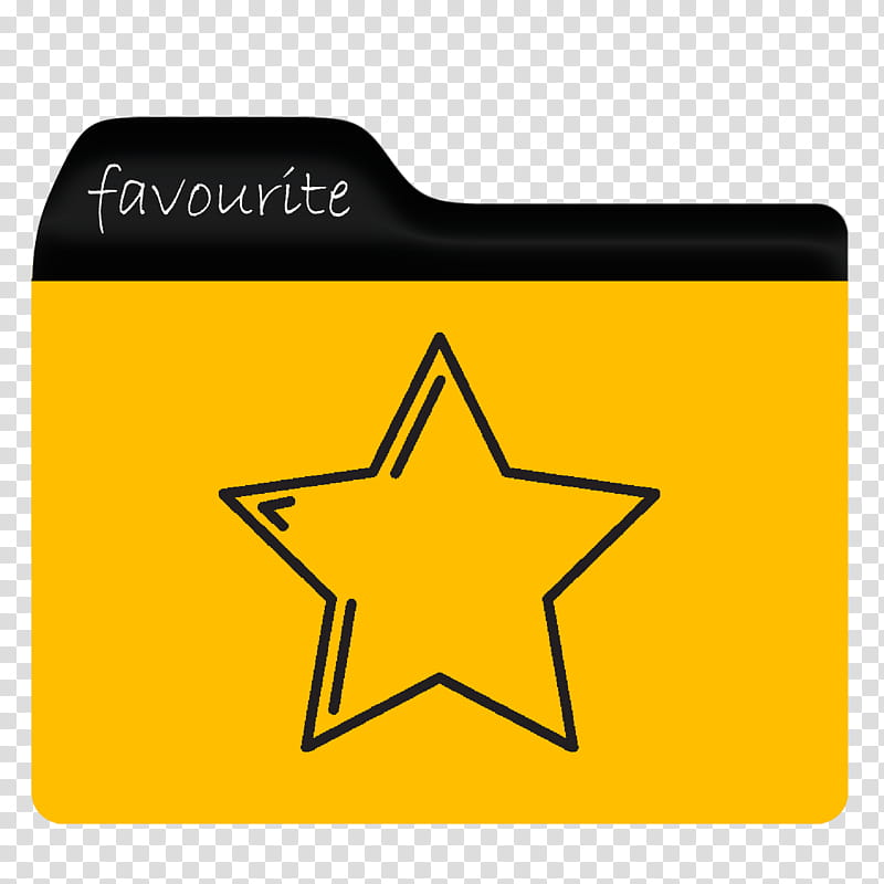 And Icons Folder, folder favourite transparent background.