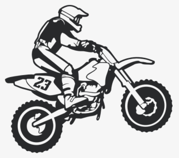 Free Dirt Bike Clip Art with No Background.