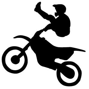 Dirt Bike Clipart 2.