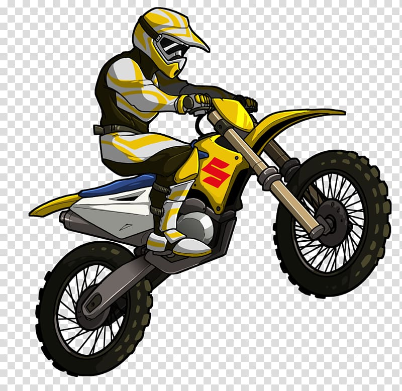 Mad Skills Motocross 2 , motorcycle transparent background.