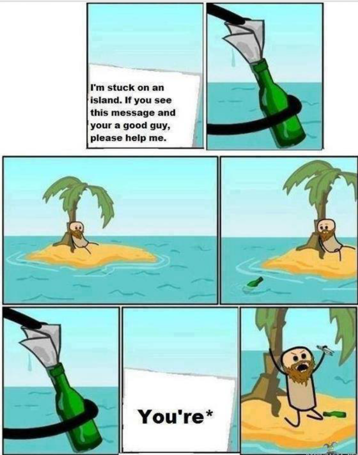 Funny cartoons.