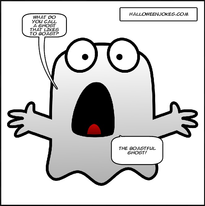 Halloween Jokes Clipart.