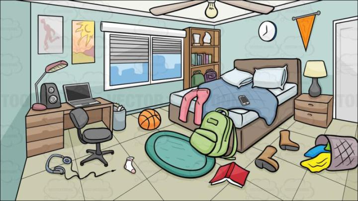 Dirty room clipart 7 » Clipart Station.