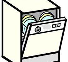 Dishwasher clipart clip art, Dishwasher clip art Transparent.