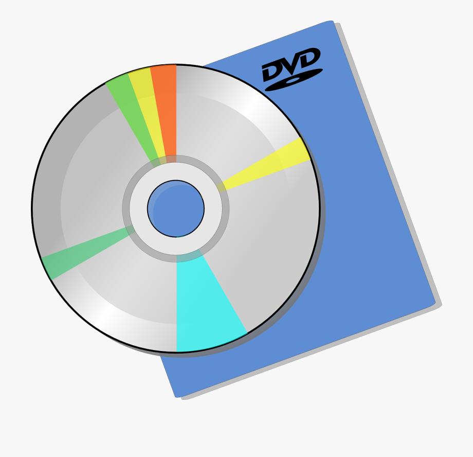 Dvd Disc Clip Art Free Svg Vector.
