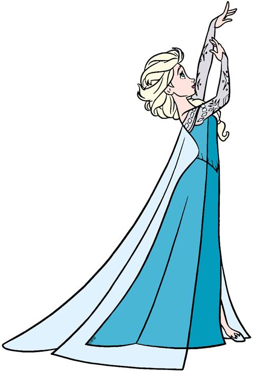 Elsa Clipart.