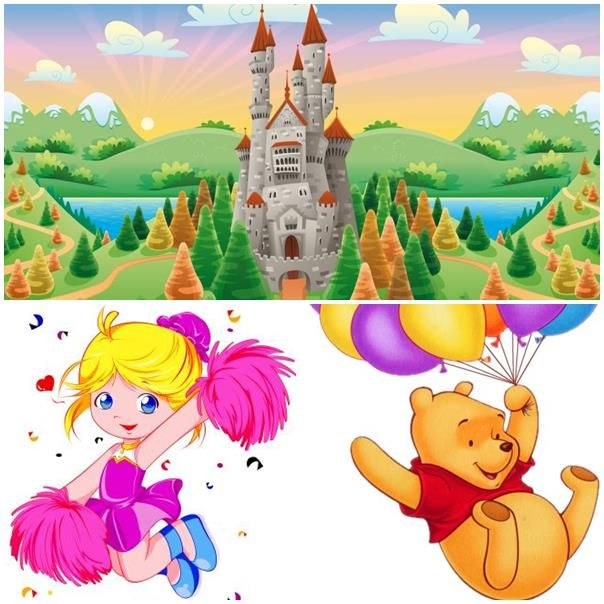 New coloring pages print and draw Disney magic castle, a.