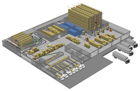 Distribution Center Clipart Distribution Warehouse Clipart.