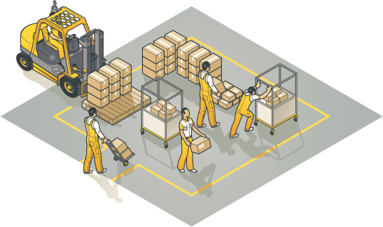 clipart distribution center - Clipground