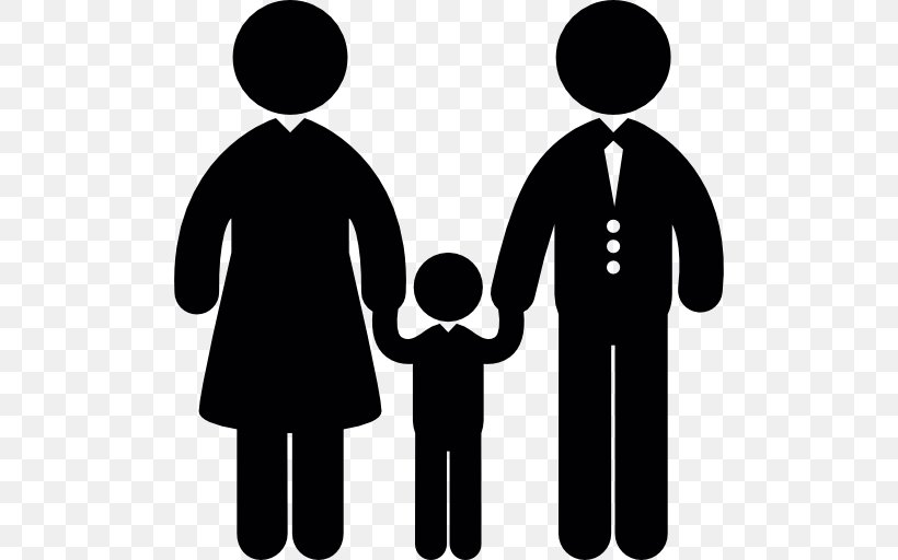 Family Child Divorce, PNG, 512x512px, Family, Black And.