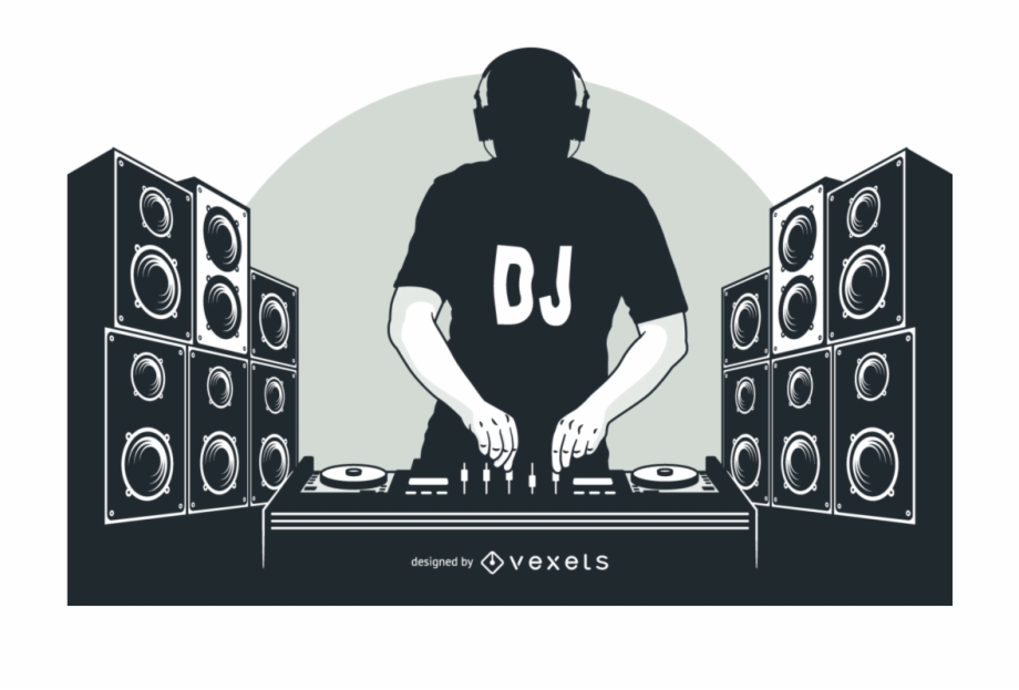 Disc jockey Animation DJ mixer Clip art.