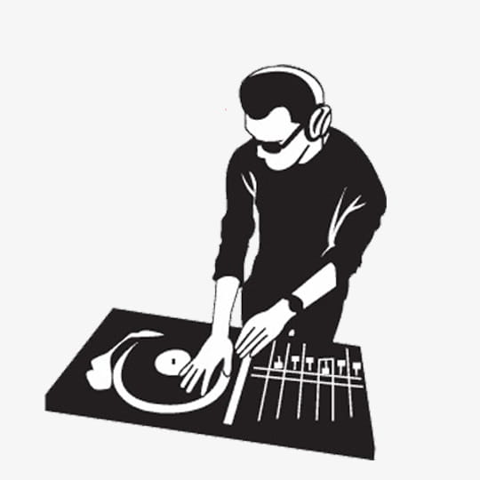 Dj,player PNG clipart.