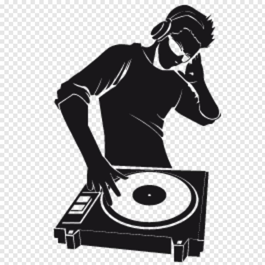 Wall decal Disc jockey Sticker Music, Dj Event free png.