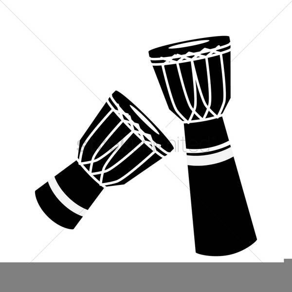 Free Clipart Djembe Drum.