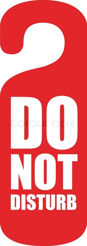 Do Not Disturb Clipart & Do Not Disturb Clip Art Images.