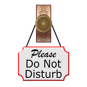 Do Not Disturb clipart, cliparts of Do Not Disturb free.