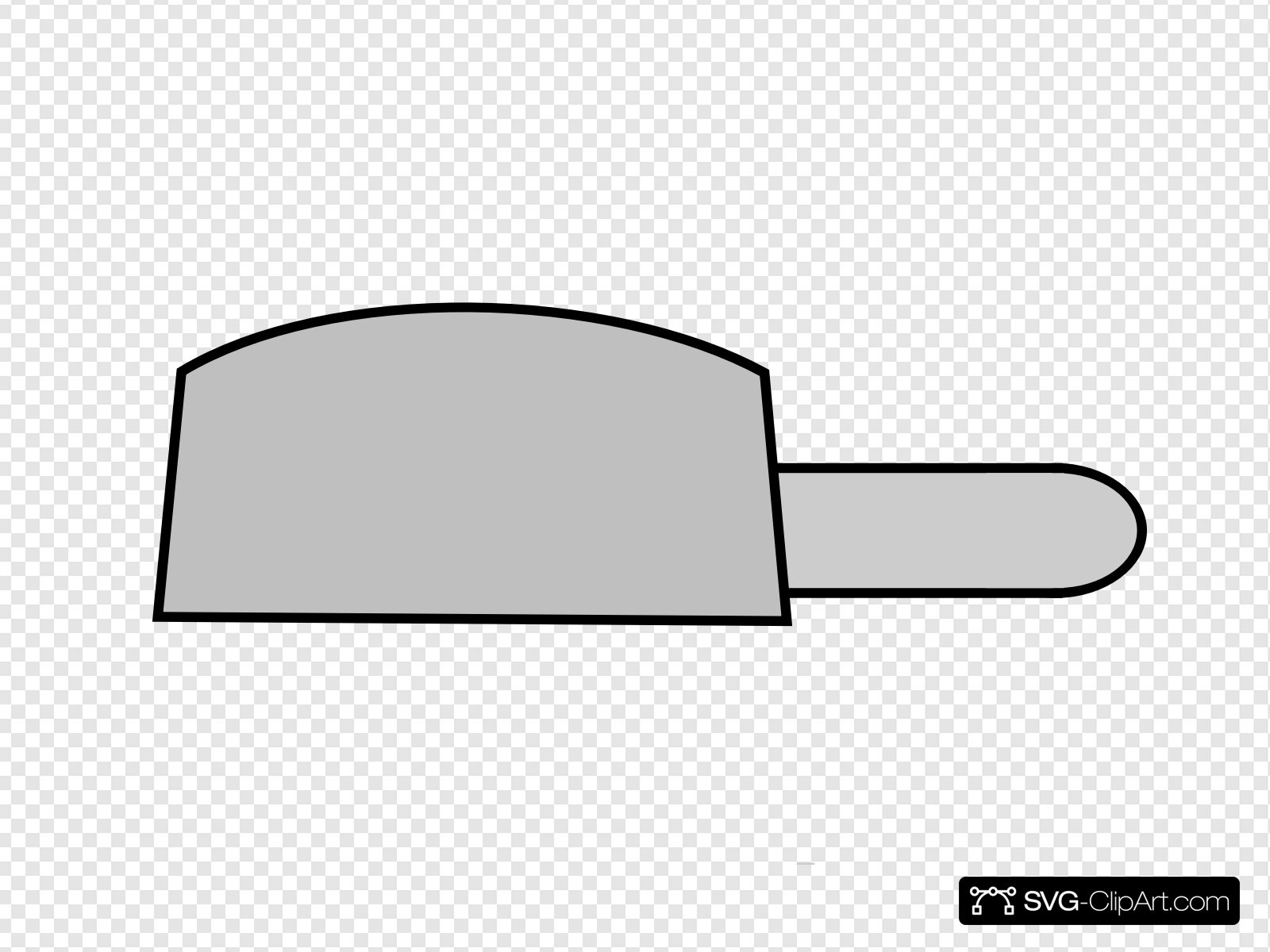 Gray Cooking Pot Clip art, Icon and SVG.