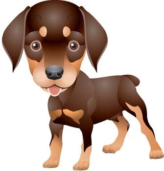 Doberman Vector 5 Clipart Picture Free Download.