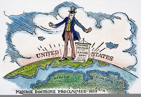 Monroe Doctrine Clipart.