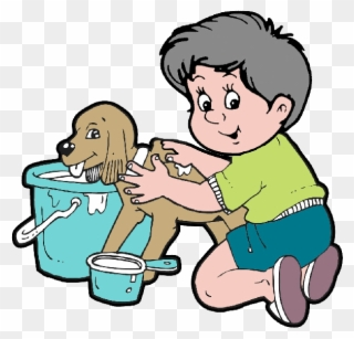 Free PNG Dog In Bath Clipart Clip Art Download.