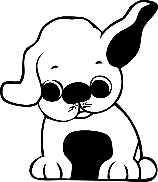 Free vector graphic: Puppy, Cartoon, Cute, Ears.