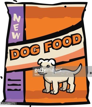 Dog Food Bag premium clipart.